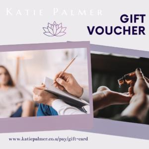 Gift card Katie Palmer WELLBEING MASSAGE REIKI