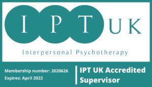IPT Registered Therapist & Supervision