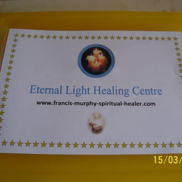 Francis Murphy  Spiritual Healer & Teacher