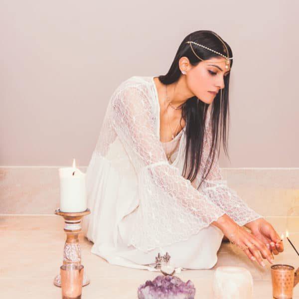 Shaylini-lighting-incense