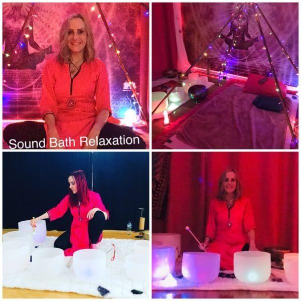 reiki and sound bath
